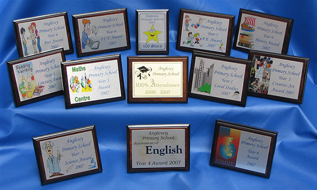 Sublimation Printed Plaques Example School Awards 1 Of 2